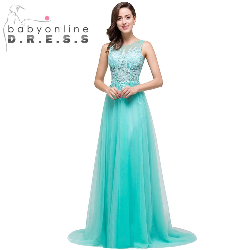 Popular Long Aqua Blue Dress-Buy Cheap Long Aqua Blue Dress lots ...