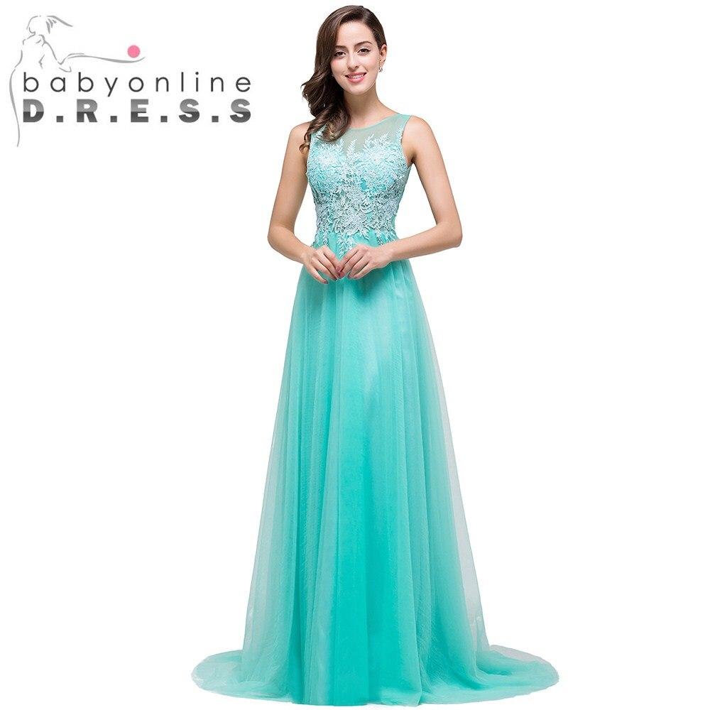 Popular Lace Aqua Bridesmaids Dresses-Buy Cheap Lace Aqua ...