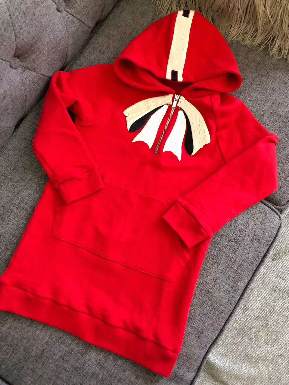 kid sweatshirt hooded girls red long sleeve t-shirt Autumn Fashion soft pullover hoodie for Children outwear in stock hooded graphic print long sleeve hoodie