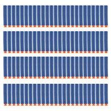 100 Pcs 7.2 centímetros de Recarga Ogivas para Nerf Dardos Blasters com Otário N-strike Elite Série Arma de Brinquedo Acessórios dardos de Sucção suave
