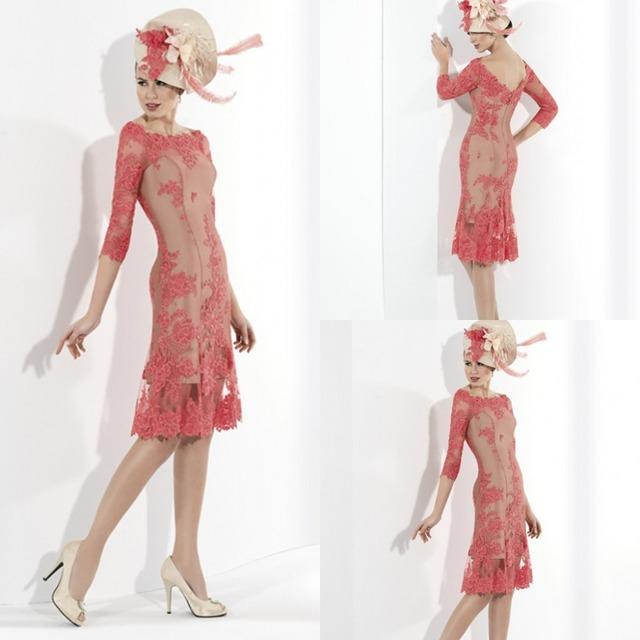 Primavera 2016 Mãe Dos Vestidos de Noiva Para O Tamanho Mais