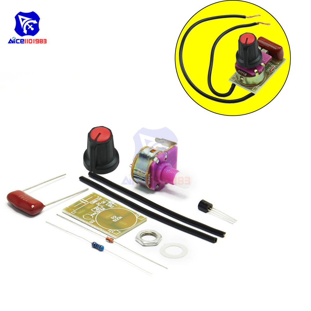 1PCS 100W Dimmer Module Switch Speed Regulation Module DIY Kit
