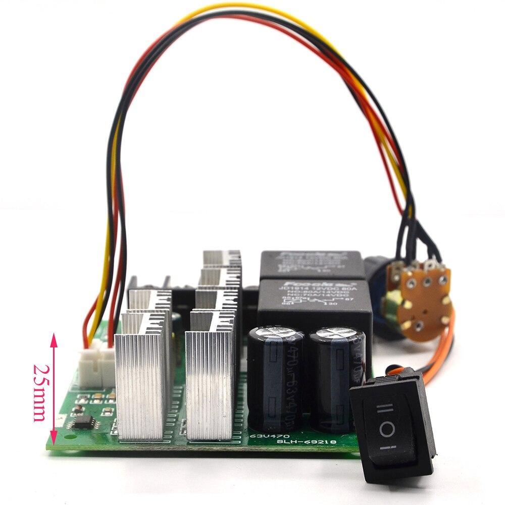 Dc Speed Motor Controller Forward Reverse 10 50v 40a 60a For Brush Pwmmotorcontrollerwithforwardandreversejpg Reversing Control 0 100