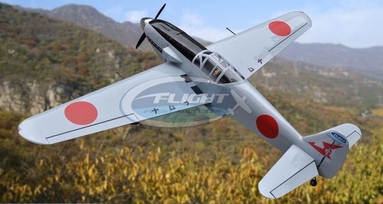 KI 61 60 91 Grade Nitro RC AirPlane ARF with 70.8 Wing Span