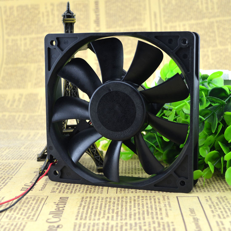 New original AUB1212H 125 12V 0.39A 12CM cooling fan