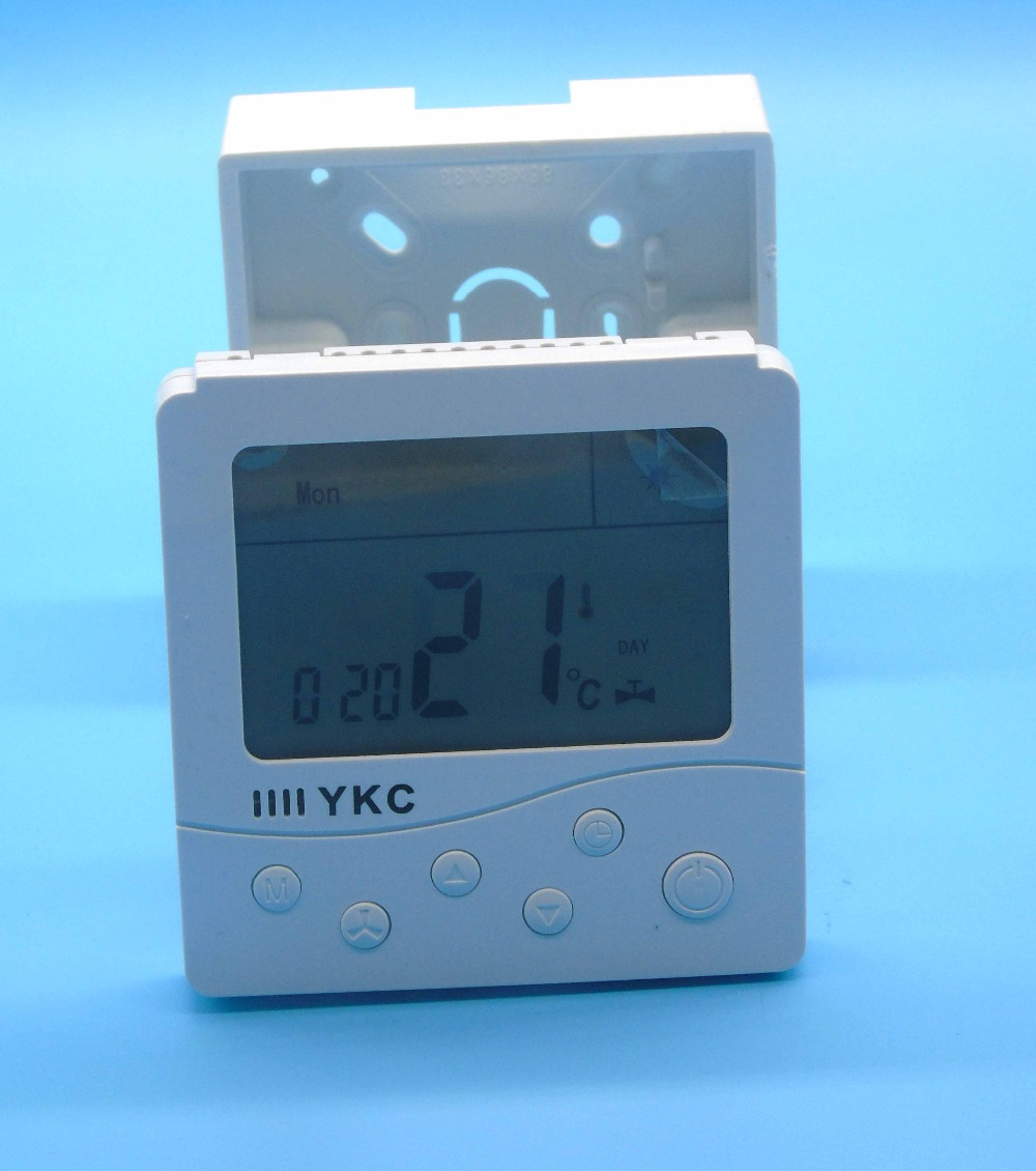 Russian English Operation manual Digital LCD Display Heating Boiler ...