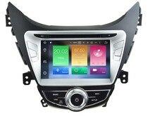 OCTA CORE android 6.0 jugador del coche dvd gps 1024*600 Para HYUNDAI ELANTRA/i35 AVANTE (2011-2013) unidades principales de navegación radio 3G WIFI
