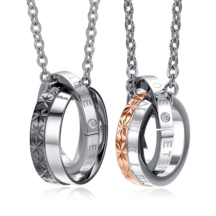 2017 men with double chain accessories containing vacuum plating Teen Wolf  titanium necklace pendant and lovers. Online Buy Wholesale teen accessories from China teen accessories