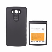 New High Capacity 8200mAh Replacement Extended Battery With Black Protective Case For LG G3 BL 53YH