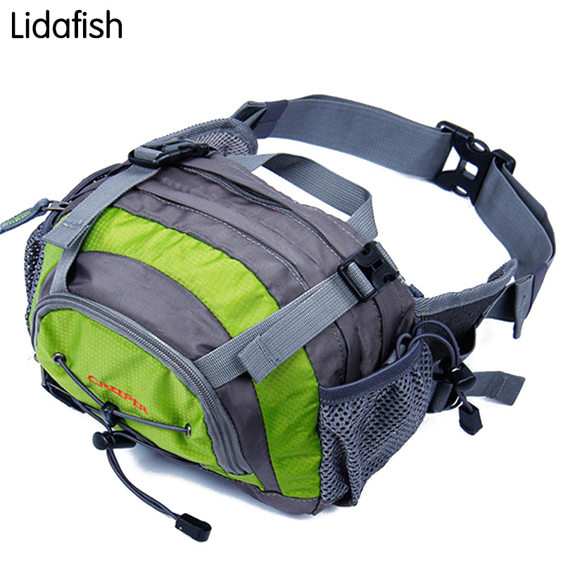 Dashing 2017 New Red Canvas 3-layer Multi-purpose Fishing Gear Package Pole Waterproof Package Fishing Bag Fishing Suit Trackle Package