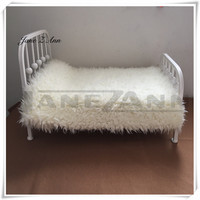 Jane Z Ann Newborn Baby photography props infant Iron install bed studio picture taking auxiliary accessories
