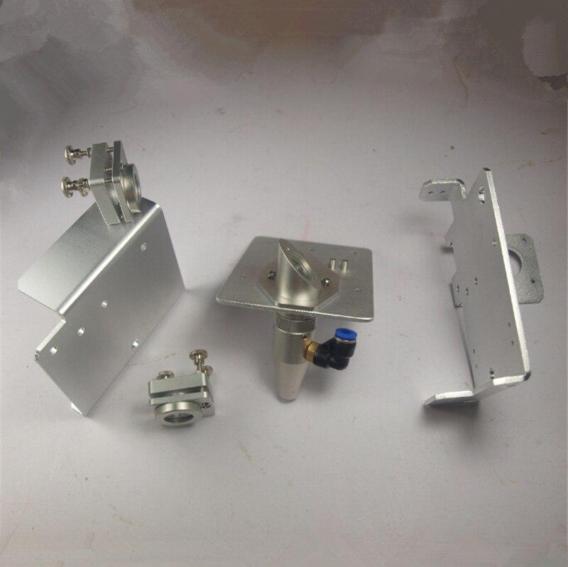 Funssor aluminum alloy Gantry End Plates Laser Reflection Mirror Mount Lens carriage plate For DIY Buildlog 2X Laser Fast ship reflection spectroscopy shelf mount open pg207 15 to 50 70 100