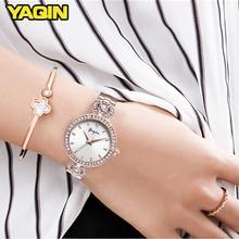 2018 Golden Watch Women Fashion Quartz Watches Top Brand Luxury Steel Bracelet Relogio Masculino Diamond Ladies Watch недорого