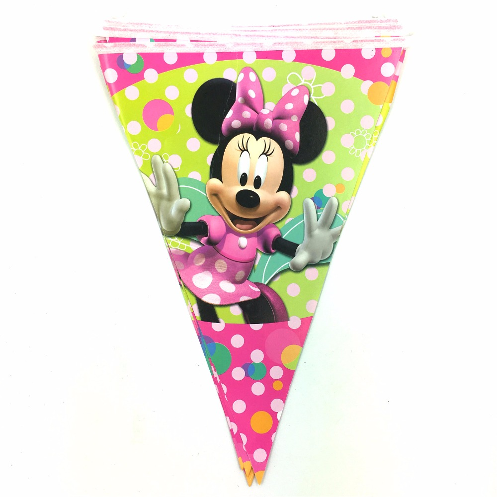 Online buy wholesale minnie mouse party supplies from for Baby minnie mouse party decoration