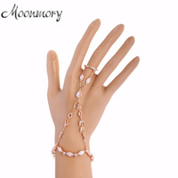 Moonmory 2 Colors 925 Sterling Silver Tassels Love Ring With Long Chain Fit Female Party Hollow Finger Rings Fashion Jewelry
