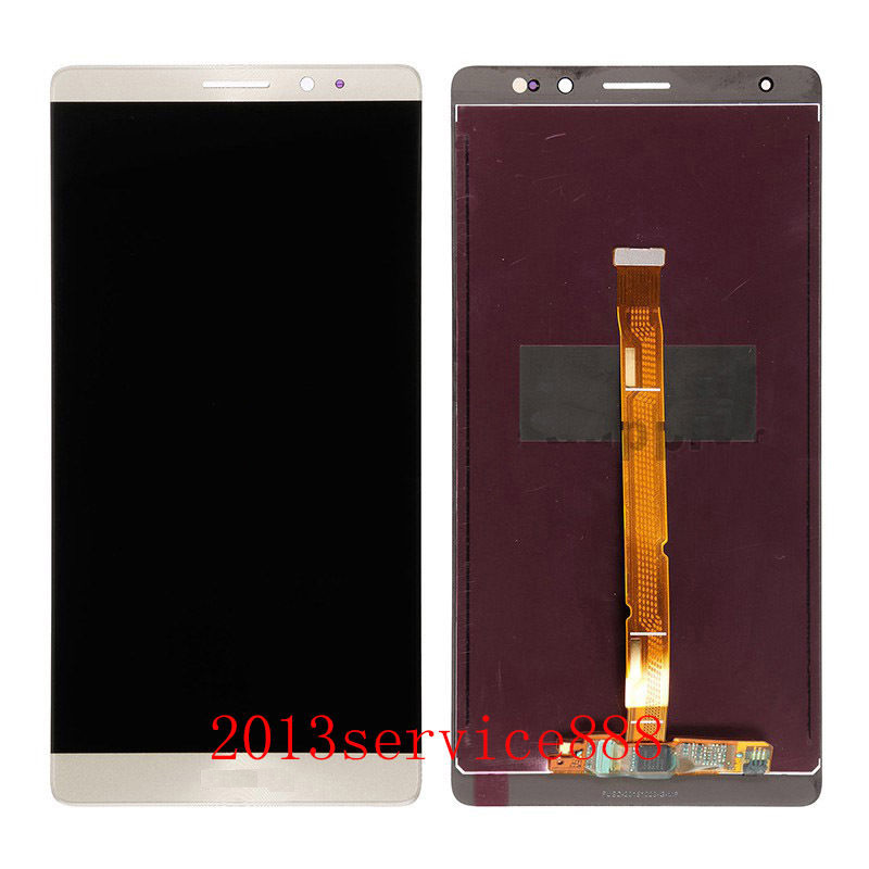 Original 100% test LCD Touch Screen Digitizer Assembly For Huawei Mate 8 Gold Free Shipping With Tools