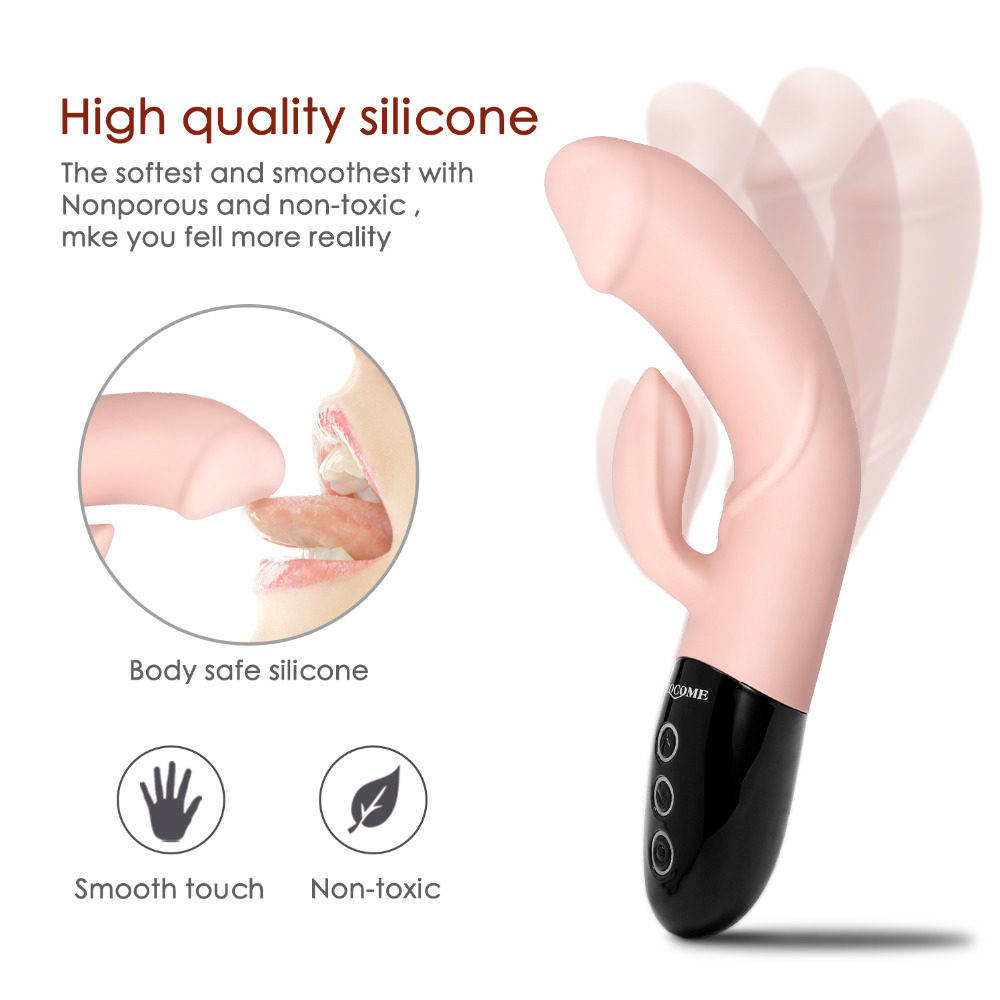 64 Vibration Mode Powerful Big Dildo Vibrators for Women Magic Wand Body Massager Sex Toy For Woman Clitoris Stimulate Female