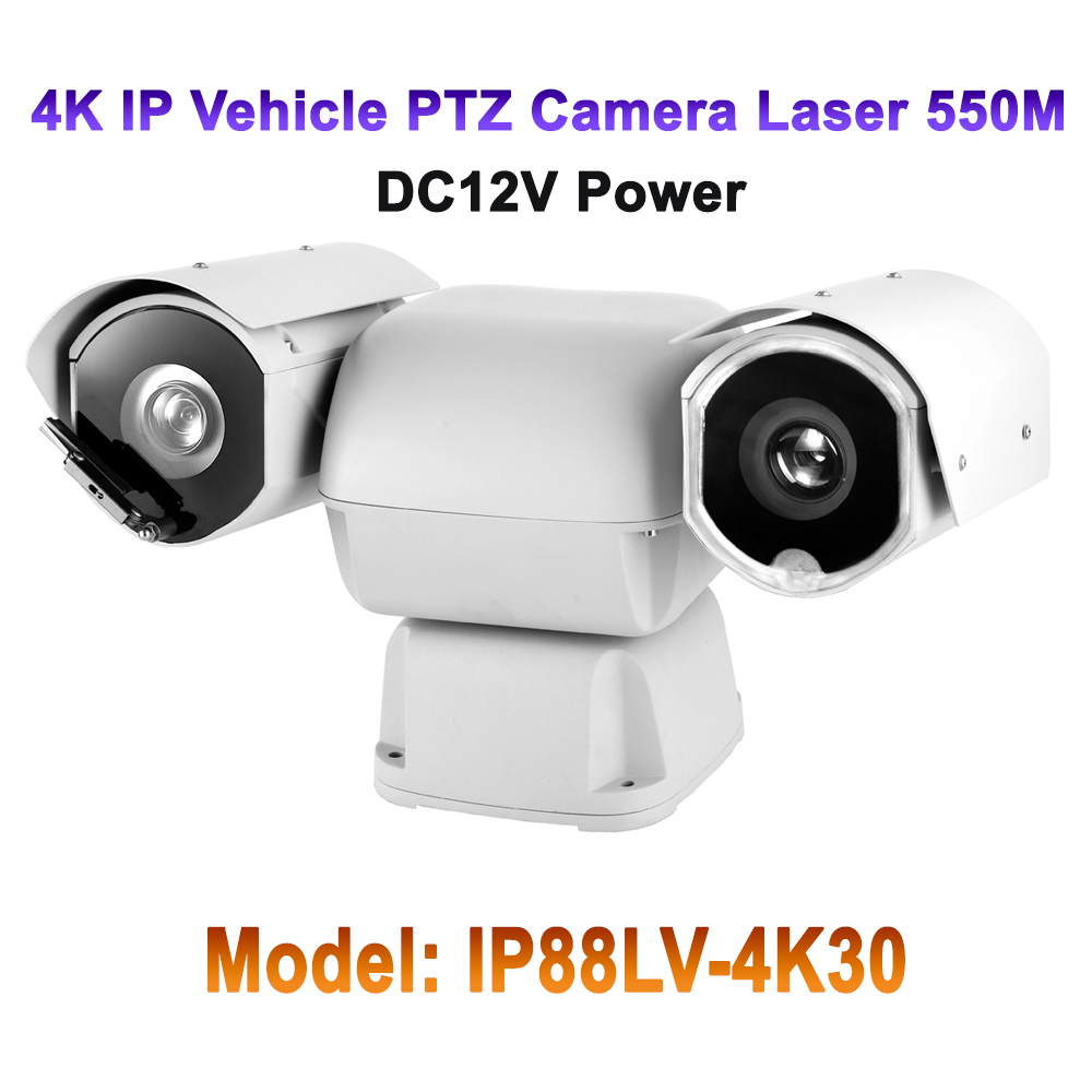 4k Ultra Hd 8mp Outdoor Rugged Ip Ptz Camera 1 2 5 Sony Cmos 30x Optical Zoom Onvif Surveillance Security Laser 550m Ip66 Wiper In Cameras From