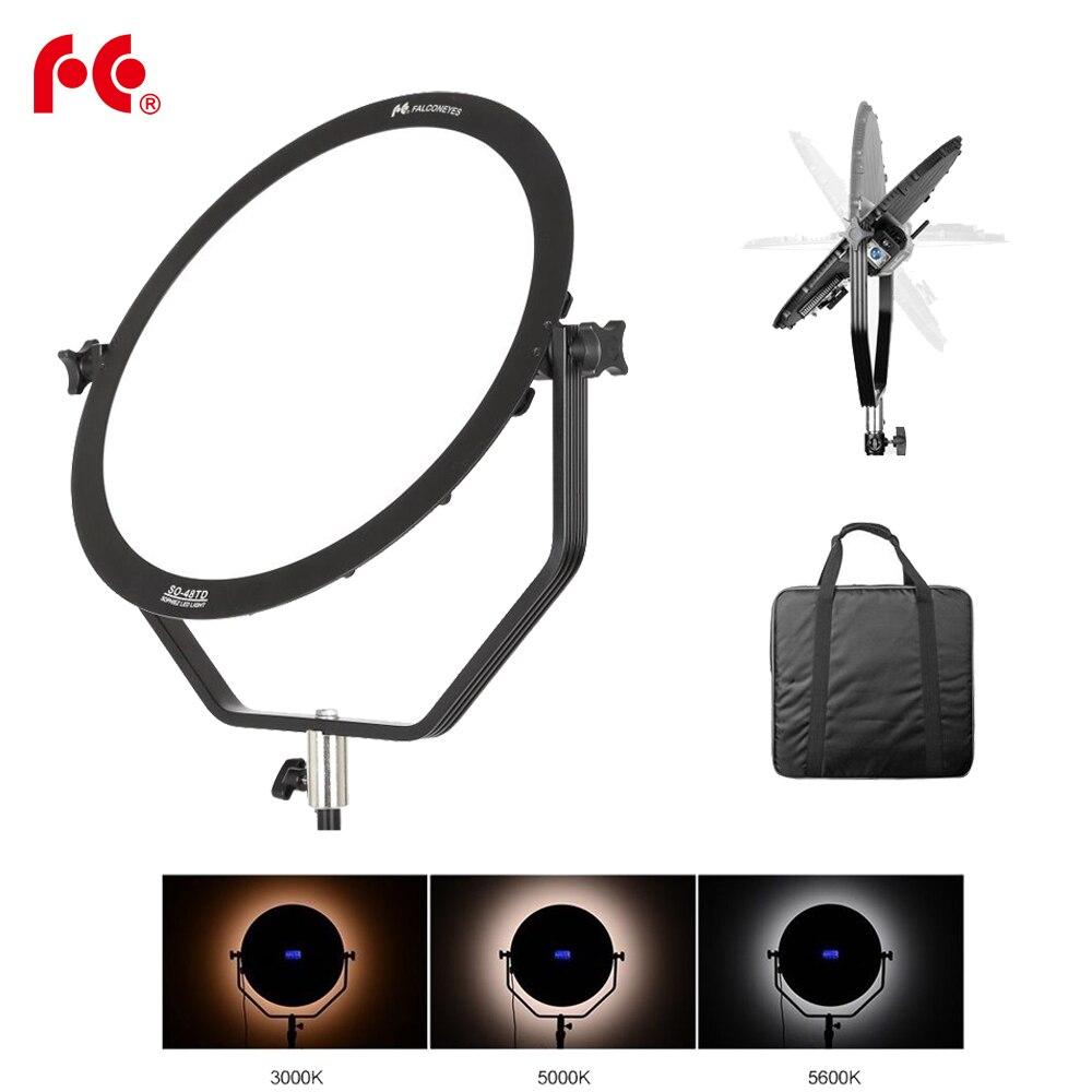 Falcon Eyes SO-48TD 48 W LED Panneau Dimmable Haute CRI95 3000-5600 K Éclairage Vidéo Film Studio Photographie Continue lumière
