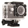 Новый водонепроницаемый Спорт камеры Gopro hero 4 стиль F60R Действий Камеры 4 К/30fps БЕСПРОВОДНОЙ Пульт Дистанционного 2.0 ''170D Шлем Cam подводные 30 М