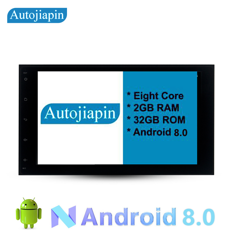 AUTOJIAPIN 9 Eight Core Android 8.0 2G RAM 1024*600 Car GPS navigation For TOYOTA COROLLA/Sienna 2017 With Stereo Radio Audio