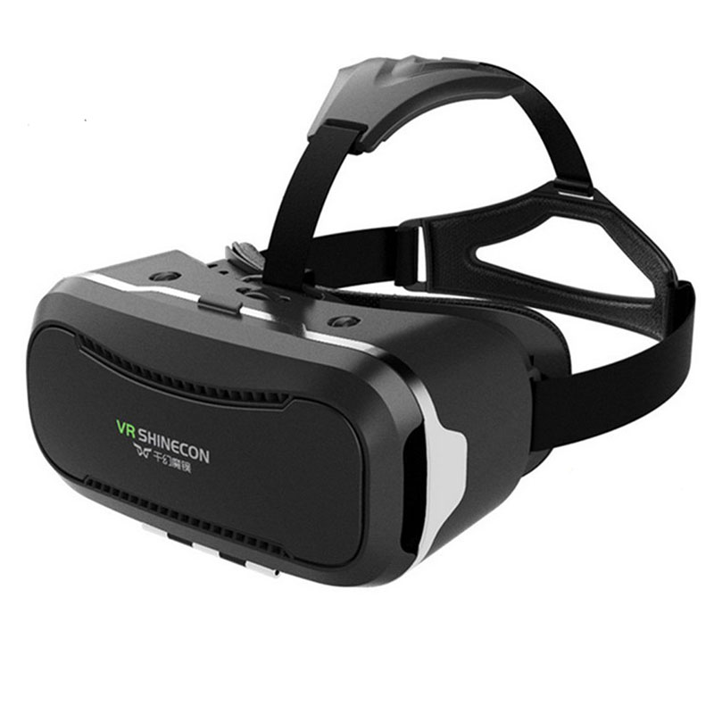 Shinecon 2016 Upgraded VR Virtual Reality Headset Smart Phone 3D Movies Games Video Glasses with Bluetooth