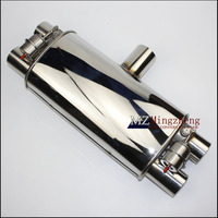 3 Exhaust System Stainless Steel T Pipe Electric Exhaust CutOut Out Valve With Electronic Remote Control Switch exhaust pipe