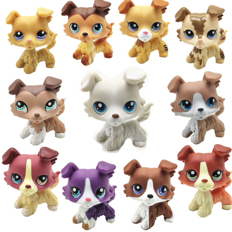 Pet Shop Lps Toy Dog various Styles Of Cute Puppies Kitten Models Cute Children Gifts Free Shipping