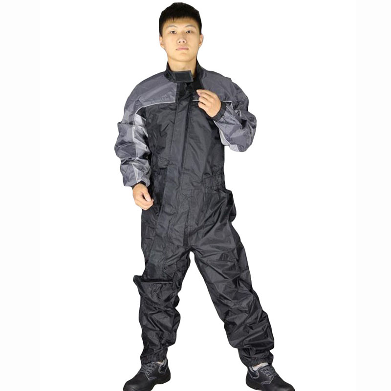 Mens Safety clothing Work clothing Long sleeve waterproof windproof protective coveralls high quality moto raincoat Plus