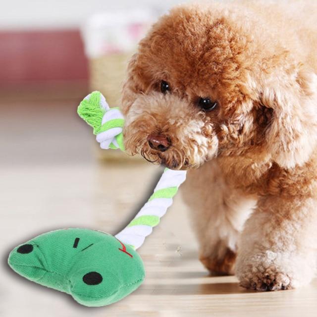 Интерактивные игрушки для собак, панда Узел игрушка, мячик на веревочке для щенка собаки кошки зубы чистыми Чейз Бросьте обучение игре