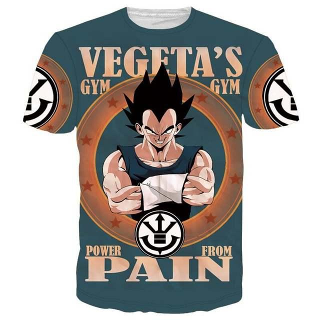 7dec59b6229 Dragon Ball Z Son Goku Men Summer T-shirt Super Saiyan Child Gokou Master  Roshi
