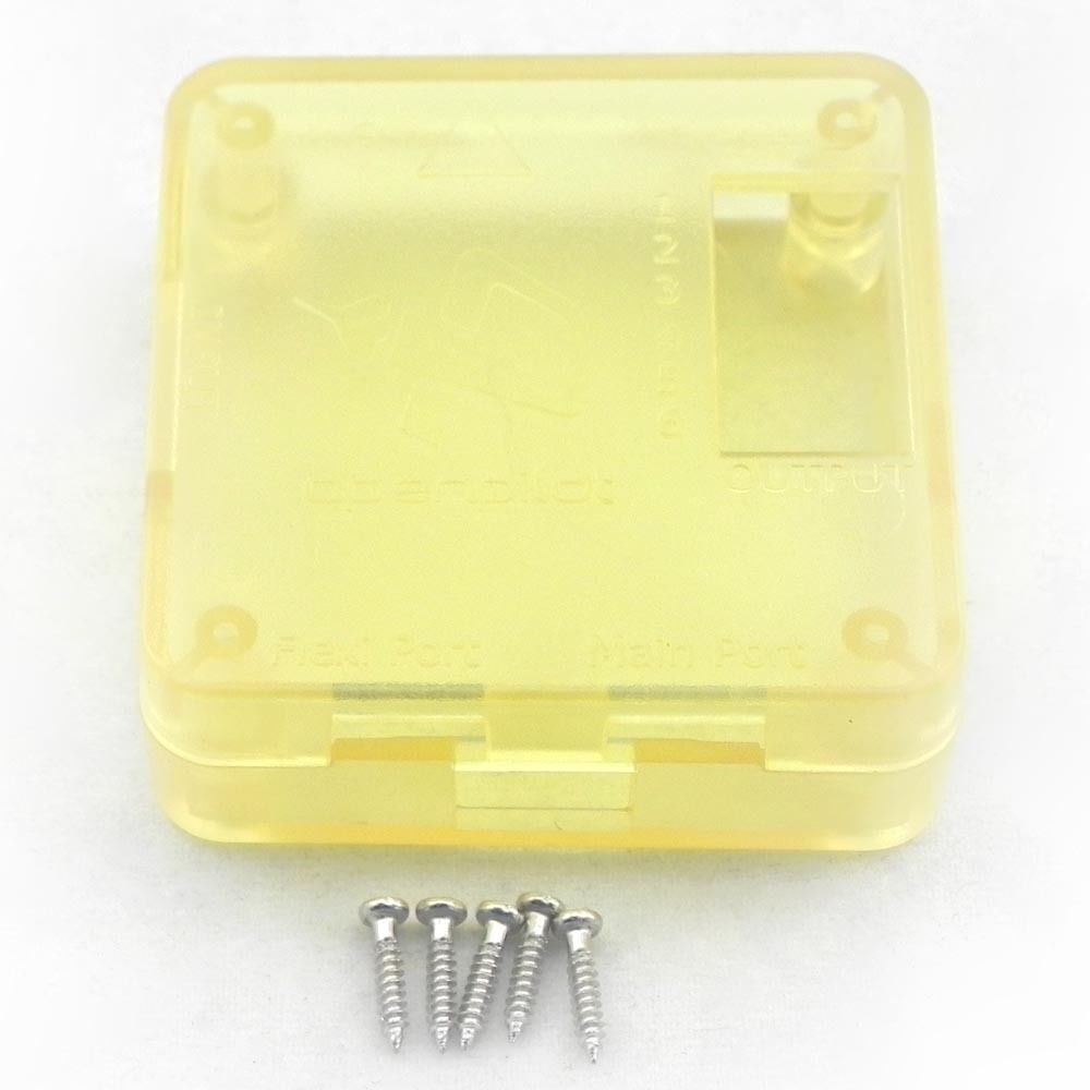 Caja protectora de alta calidad CC3D Controlador de vuelo Junta protectora de la carcasa protectora con tornillos