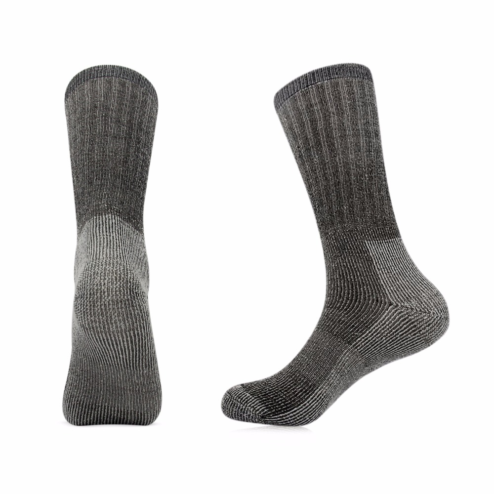 the latest on wholesale in stock US $35.99 |6 pairs/lot Vihir Men's Cushioned Thick 80% Merino Wool Crew  Sports Sock Skiing Socks Hiking Socks Cycling Socks Running Socks-in Hiking  ...