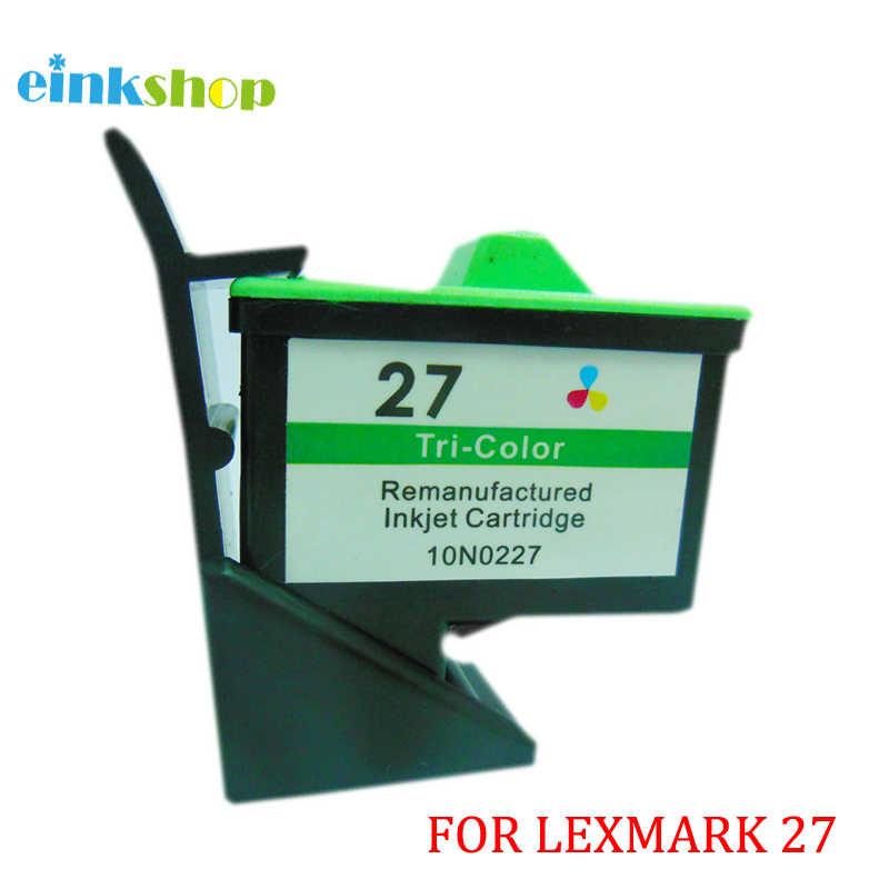 Einkshop für Lexmark 27 Tinte Patrone für Lexmark Z605 Z615 X1100 X1200 X74 X75 X83 X125 X1150 i3 Z13 Z23 z25 Z33 Z35 Z515 Z600