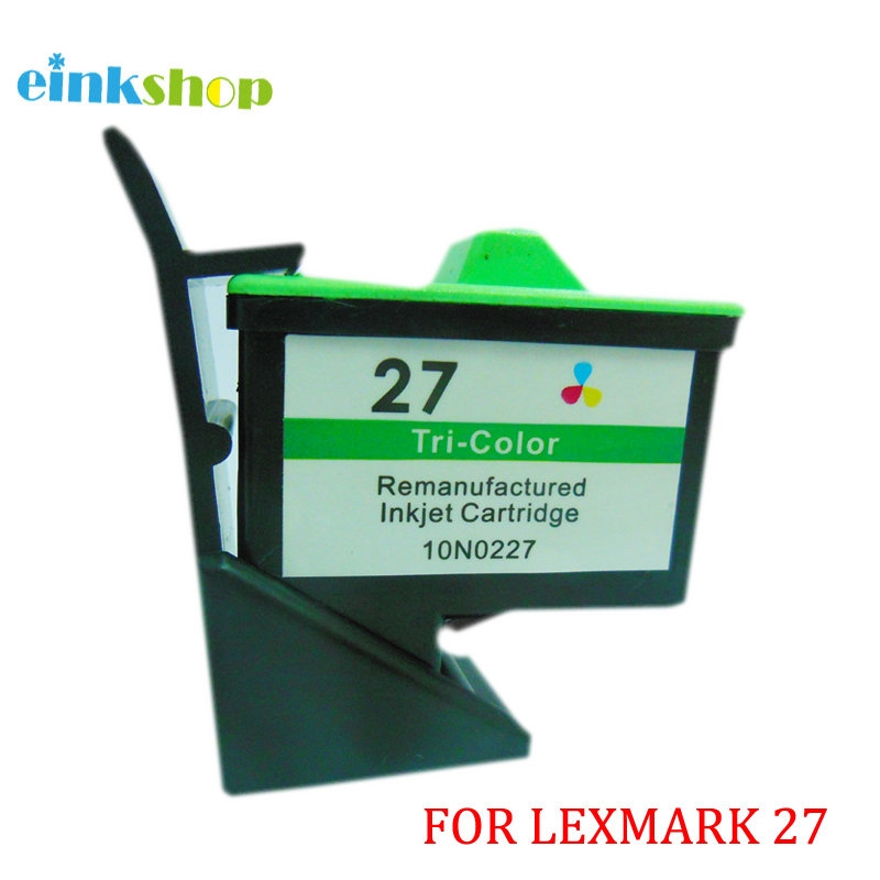 for Lexmark 27 Ink Cartridge for Lexmark Z605 Z615 X1100 X1200 X74 X75 X83 X125 X1150 i3 Z13 Z23 Z25 Z33 Z35 Z515 Z600 Z603 for Lexmark 27 Ink Cartridge for Lexmark Z605 Z615 X1100 X1200 X74 X75 X83 X125 X1150 i3 Z13 Z23 Z25 Z33 Z35 Z515 Z600 Z603