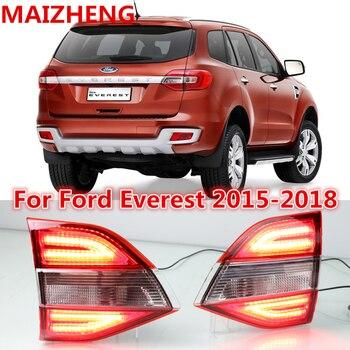 LED Tail light for Ford Everest Endeavour Rear Bumper Light  2015 2016 2017 2018 Rear Fog Lamp DRL Brake light