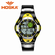 Brand HOSKA sport women s watches LED digital watch women waterproof digital watch display relogio masculino