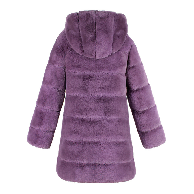 Zipper Winter Coat Women 2018 Sleeveless Fur Cashmere Hoodie Coat Girl Warm Pullover Thick Coat femenino #N28 (19)