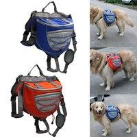 2016 Pet Saddle Bag Adjustable Saddle Bag Backpack Medium And Large Dogs Bag For Outdoor Hiking