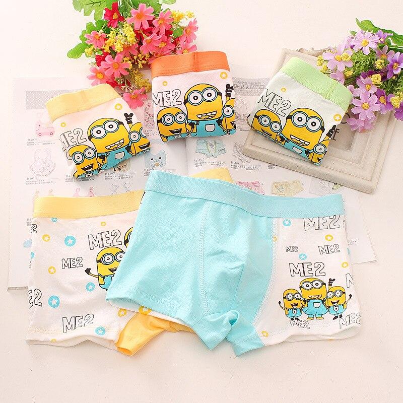 6 teile/satz kinder Slips Cartoon Prinzessin Baumwolle Baby Jungen Unterwäsche Schöne Kinder Hosen Infantis Höschen für Kindergärten Kleinkind