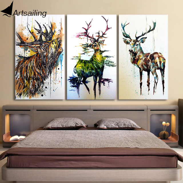 Three Piece Framed Wall Art
