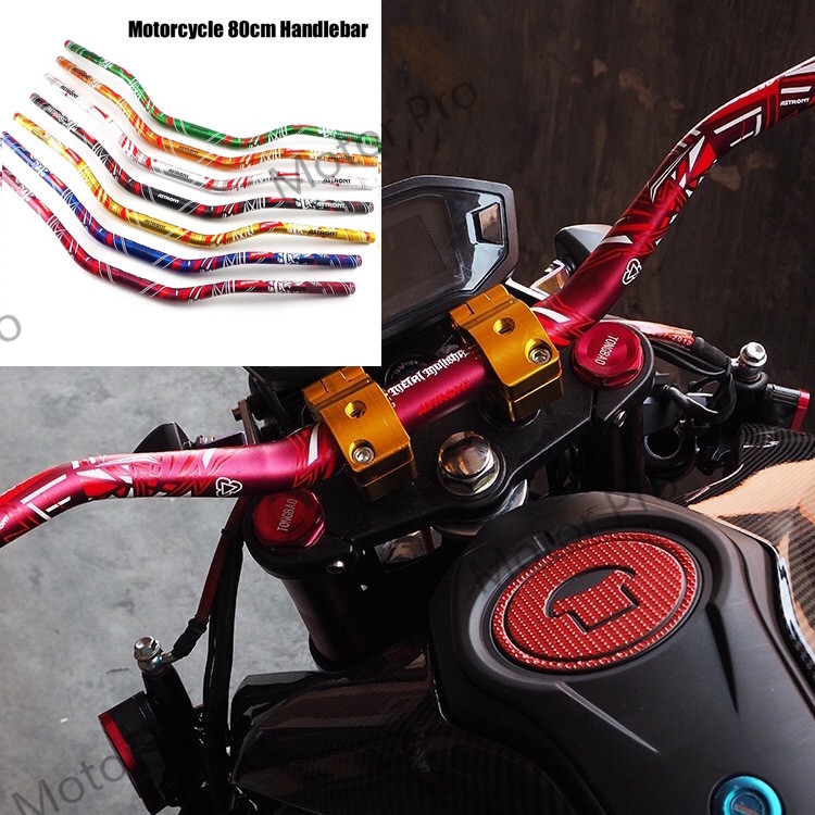 Universal Motorcycle Accessories handlebars handle bar manillar Motorbike Steering Wheel guidon manubrio moto For Honda Suzuki steering lever bar steering columm for kandi 250 kd 250gka 2z buggy gokart