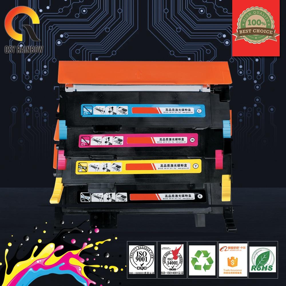 For Samsung CLT-K406S C406S M406S Y406S 406S Toner Cartridge compatible Toner Cartridge CLP-365W CLX-3305FW Xpress C410W C460FW refill for samsung proxpress c 410 fw mltd4063 s clt k 4063 slc 412 w clt k 4062 els xaa xil see compatible new replacement