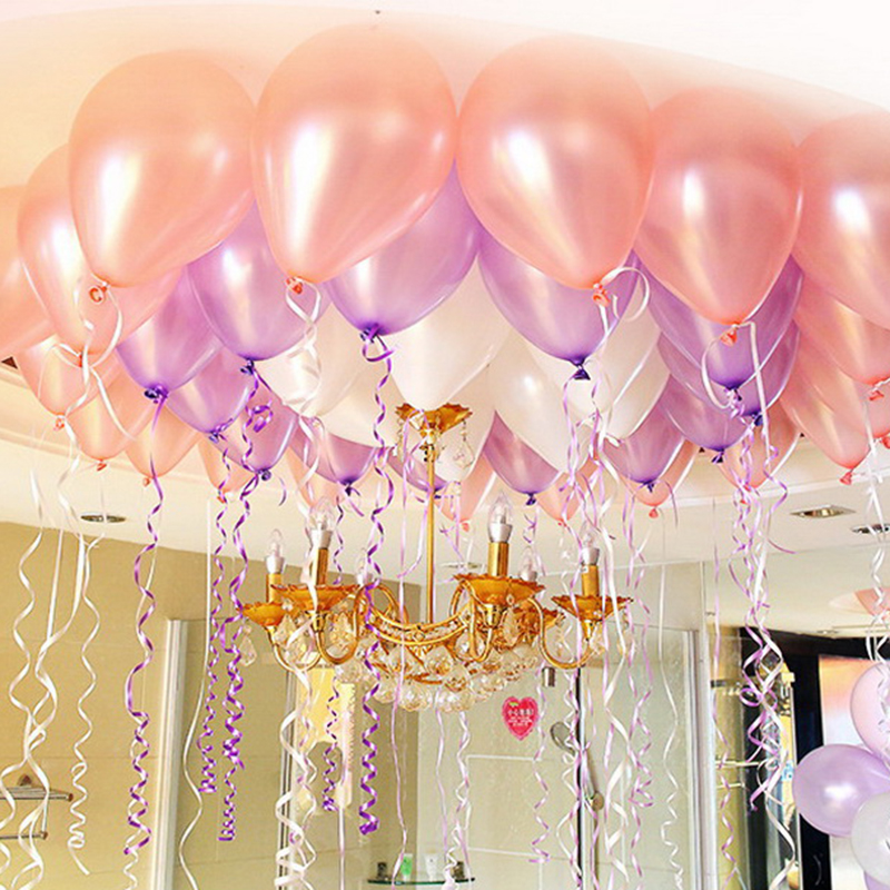 10pcslot 15g pink pearl latex balloon mix colors inflatable 10pcslot 15g pink pearl latex balloon mix colors inflatable wedding decorations air ball happy birthday party supplie balloons in ballons accessories junglespirit Choice Image