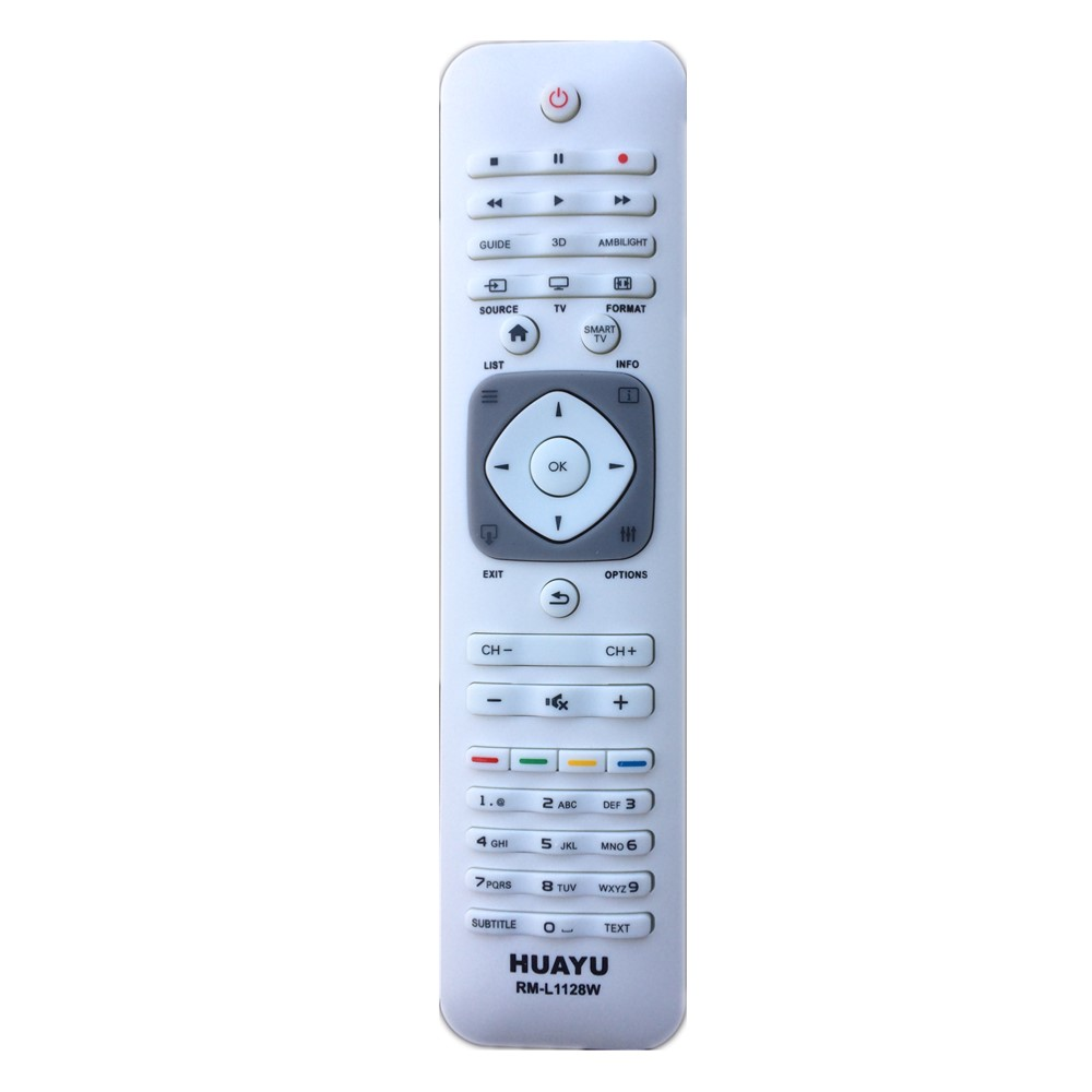 RM-L1128W Remote Control for Philips LED With 3D Buttons TV By HUAYU Factory точечный светильник philips led 2 5 3 5w3