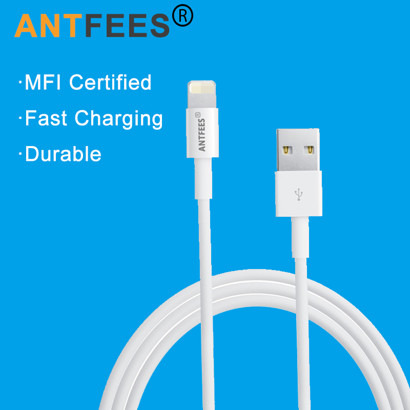 Galleria fotografica New Original Quality MFI Certified 8pin USB Data Sync Charger Cable Cords for iPhone 5 5S 6S 7 8 Plus for ipad iphone Wire Line