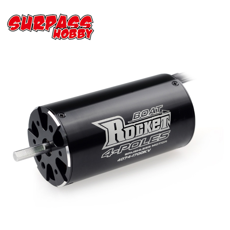 SURPASSHOBBY Rocket 4074 2250KV 2000KV 1700KV 4P Brushless Motor for Traxxas M41 Catamaran Spartan 1000mm(or Above) RC Boat Car-in Parts & Accessories from Toys & Hobbies
