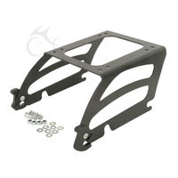 Motorcycle Detachable Solo Tour Pak Pack Rack For Harley Softail Standard Deluxe Fat Boy Classic Custom Night 2000 2017