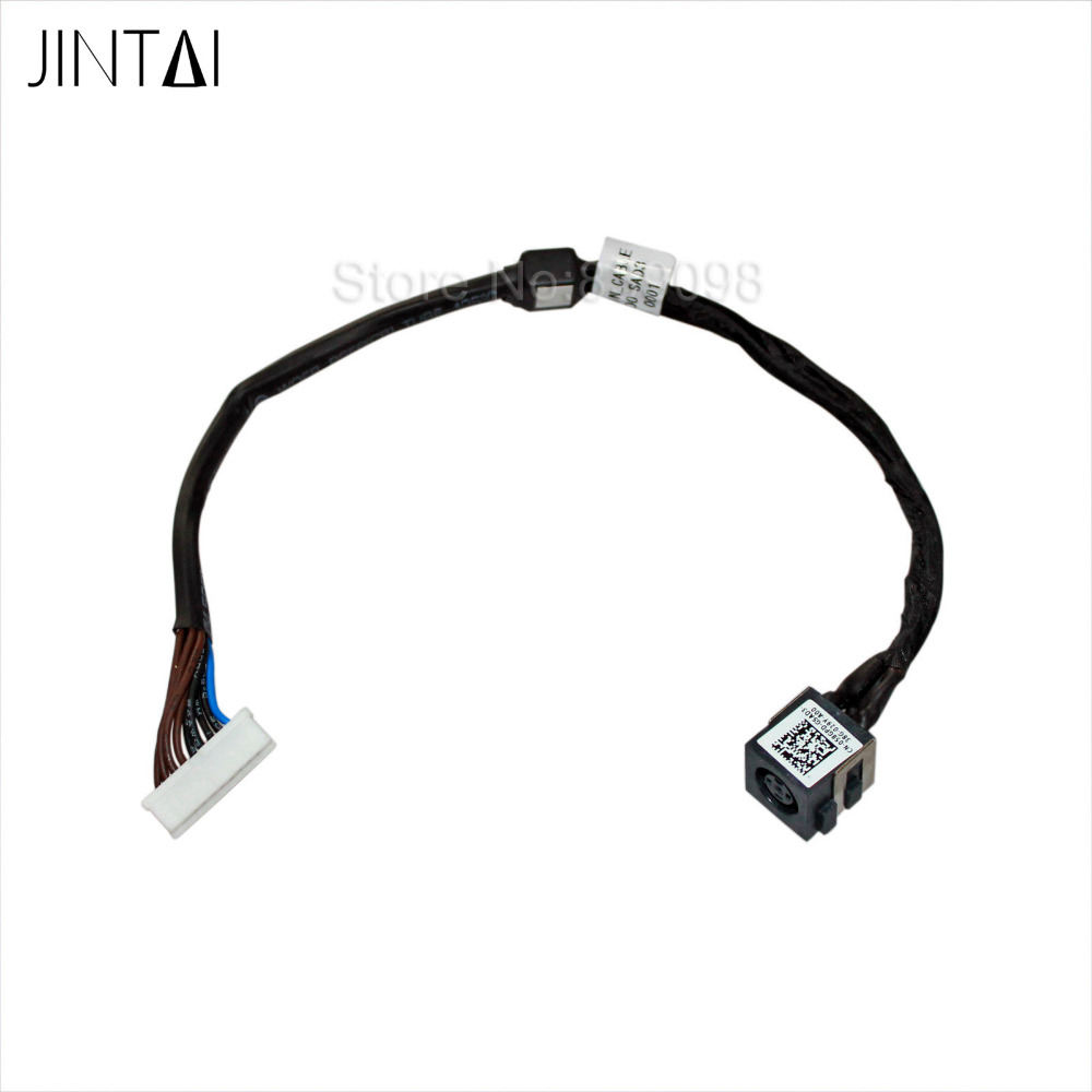 100% NEW JINTAI LAPTOP DC POWER JACK CABLE SOCKET PORT CONNECTOR FOR Dell Precision M4800 M4700 M6800 100% new 1 3mm pin dc power jack socket for tablet pc power jack connector