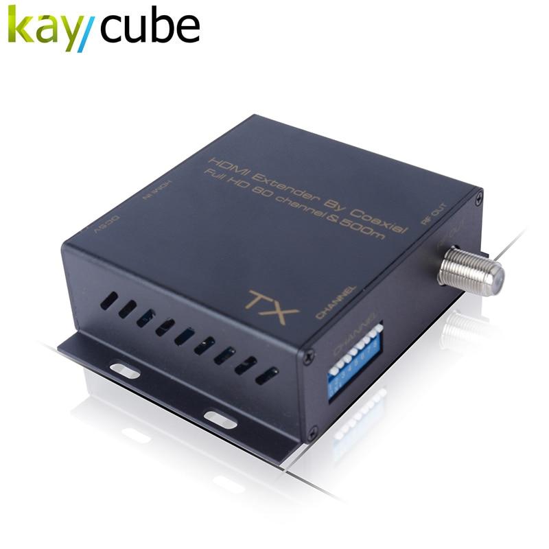 HDMI TO DVB-T Modulator Convert HDMI Extender signal to HD digital DVB-T TV Receiver RF Output HDMI to HD Digital TV signal satlink ws 6990 hd av input single channel dvb t modulator compact and wall mountable